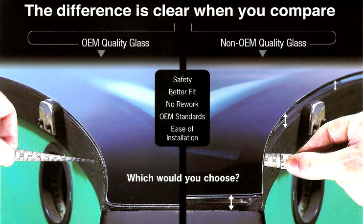 Auto Glass Service Will Replace Your Windshield With Oem Glass